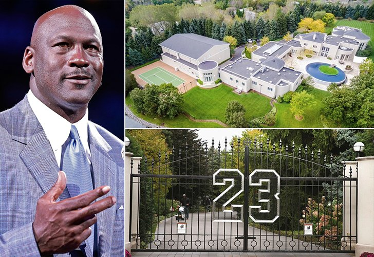 Incre bles casas de famosos esperemos realmente que - La casa de michael jordan ...