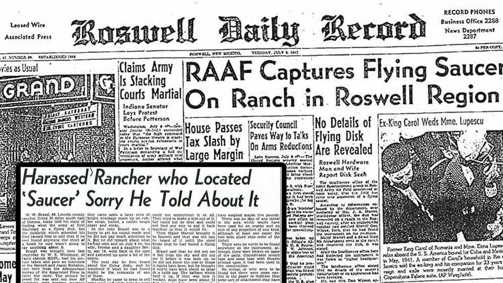 a report on the roswell mystery Watch video a bombshell allegedly leaked report about the 'roswell ufo crash' in new mexico nearly 70 years ago says the roswell ufo was a 'reconnaissance craft' and four beings on board 'did not come from earth.