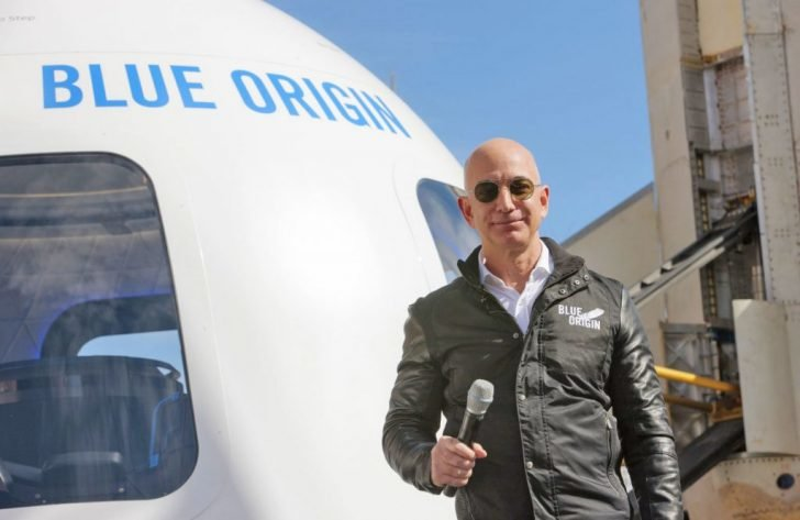 Aside from working on improving Amazon, Bezos says these principles help him to found Blue Origin space venture.