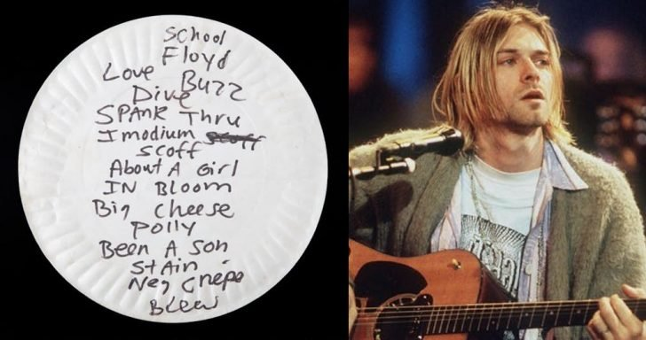 Most fans treated Cobain's artifact as their valuable souvenirs for the late singer and his band, Nirvana.