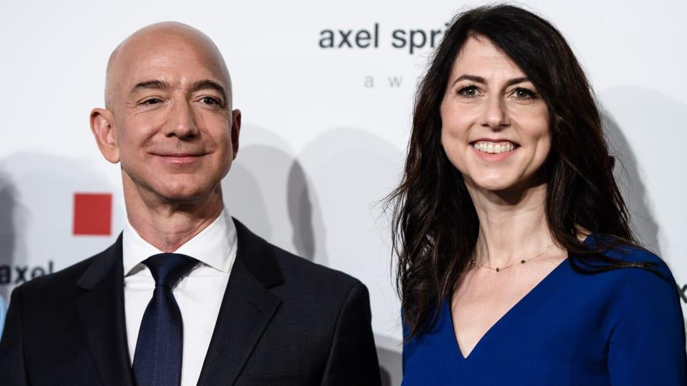 Jeff Bezos and Robert ...